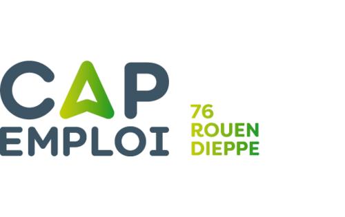 Logo Cap emploi 76 Rouen, Rouen (Réseau Cap emploi)